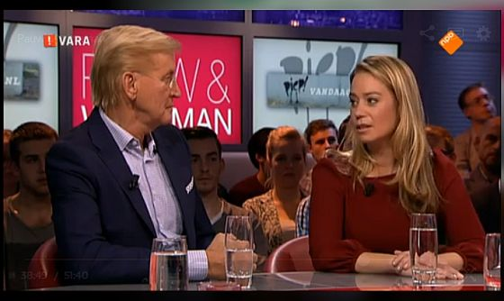 Karen Soeters bij Pauw & Witteman - In de media