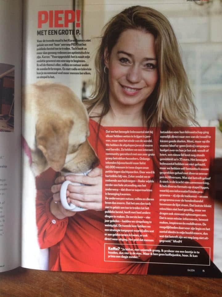 Karen Soeters - Piep! Met een grote P. - Broadcast Magazine