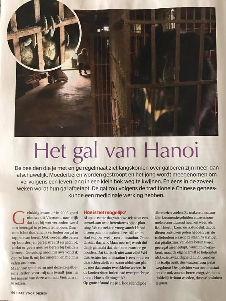 Karen Soeters - Vietnam - Hart voor Dieren